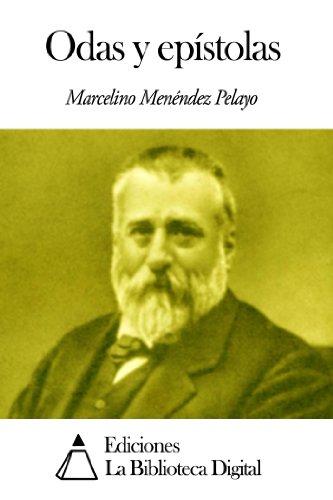 Odas y epístolas por Marcelino Menéndez Pelayo