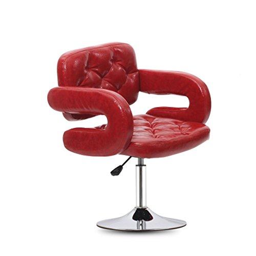 Xueping sedia girevole sedia da ufficio sgabello da bar sgabello da bar/sedia cucina ristorante sgabello da bar/sedia da bar sedia con braccioli sgabello alto (colore : b, dimensioni : one)
