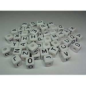 extra Buchstaben für Schnullerkette, Rechenkette uvm.
