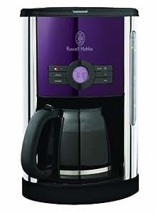 Russell Hobbs Purple Passion 14744-56 Kaffeemaschine mit Timer purpur / silber