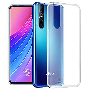 Fashionury Vivo V15 Pro Back Cover, Case with Ultimate Protection, Flexible Transparent Back Cover for V15 Pro (Vivo V15 Pro, Clear)