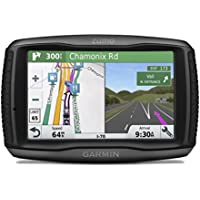 Garmin ZUMO 595LM 5 inch Motorbike Satellite Navigation with UK, Ireland and Full Europe Maps, Free Lifetime Map Updates, Bluetooth and Car Mount Included