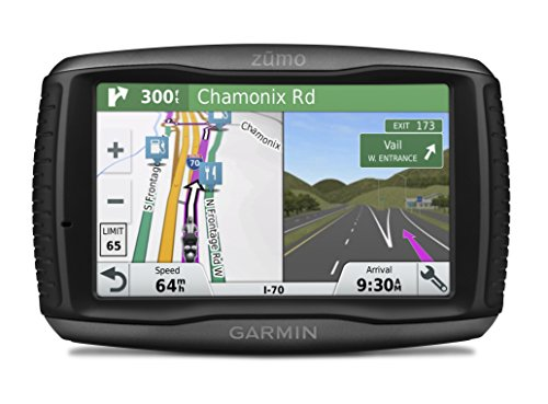 Garmin ZUMO 595LM 5 Inch Motorbike Satellite Navigation with UK, Ireland and Full Europe Maps, Free Lifetime Map Updates, Bluetooth and Car Mount Included, Black