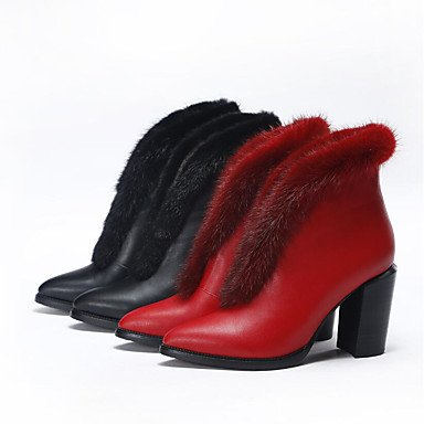 Stivali da donna Comfort PU Summer Casual Comfort Rubino Nero Bianco Flat Ruby