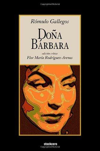DOA Brbara by Romulo Gallegos (2009-12-10)