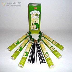Räucherwerk Räucherstäbchen - Duft: Green Apple - Grüner Apfel - RÄUCHERN (Duft Grüner Apfel)