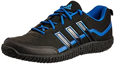 adidas Men's Voltron  Black and Blue  Trekking and Hiking Footwear Shoes - 9 UK