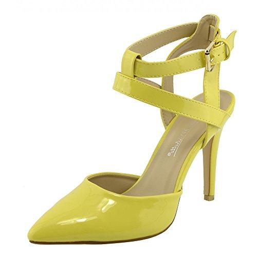 Kick Footwear Anne Michelle, Scarpe col tacco donna, giallo (Yellow), 37 EU