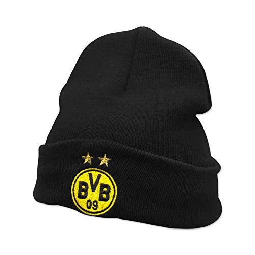 Borussia Dortmund BVB Mütze/Beanie ** Logo mit Sterne ** 18272700