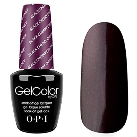 Vernis à ongles LED/UV OPI Gel Couleur 15ML - BLACK