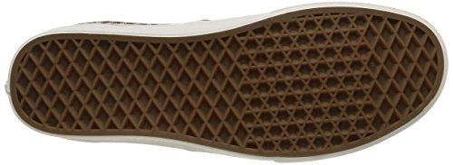 Vans Authentic Scarpe da Ginnastica Basse Unisex Adulto Rosso (Indigo/Cabernet/Blanc De Blanc)