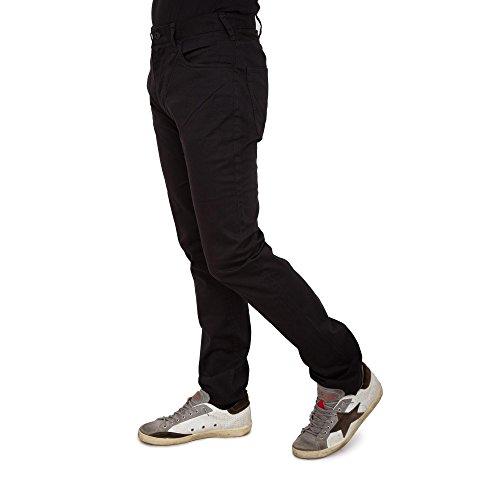 Armani Jeans Men's Jeans Slim Fit J45 Noir Noir