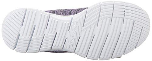 Skechers Glider Fearless, Sneakers basses femme Gray/Lavendar