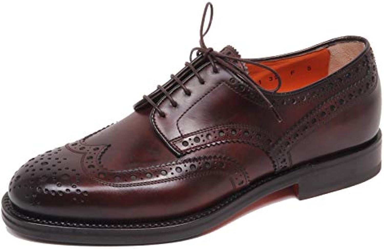 SANTONI F5482 Scarpa Uomo Marronee Scarpe scarpe Man Man Man   Ogni articolo descritto è disponibile    Sig/Sig Ra Scarpa  6b48ea