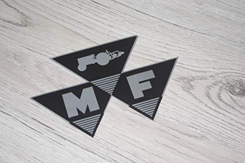 - Logo-symbol (Massey Ferguson Aufkleber Traktor Symbol Logo Emblem Sticker Label)