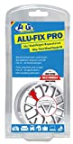 ATG Alufelgen-Reparaturset – Spezial-Spachtelmasse für Alufelgen und Stahlfelgen bei Oberflächenschäden – inkl. Lackstift Silber Alu-Metallic – DIY Smart-Repair (sortierte Verpackung)