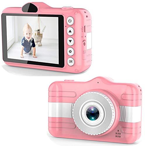 CAIZHAO - Cámara Digital Juguete niños 1080p, niñas