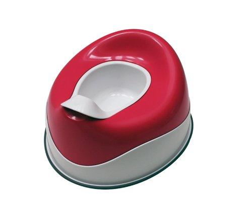 Prince Lionheart pottyPOD Basix - petit pot Basix : base et assise en plastique - Fuchsia Flashbulb