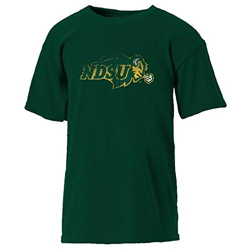 NCAA North Dakota Youth Short Sleeve Tee, X-Large, Athletic Hunter -
