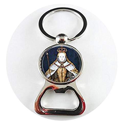 Queen Elizabeth I in her Coronation Robes British Monarch - Queen Elizabeth Big Ben - Great Britain Memento Flaschenöffner Literary Jewelry