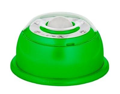 LED-Lampe mit Bewegungsmelder, inkl. Batterien, magnetisch, Farbe grün / Orientierungslicht / Nachtlicht / Passivlicht / dimmbar von pimp your locker GmbH - Lampenhans.de