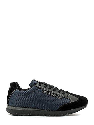 Versace Jeans E0YOBSF1 Sneakers Uomo Tessuto BLU BLU 42