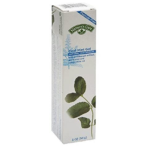 Natures Gate 44058 Cool Mint Gel Toothpaste Tub