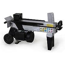EBERTH máquina divisora madera hidráulica 5T 370mm potente de 1500 Vatios