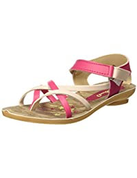 WalkaroO by VKC Girl's Fashion Sandals