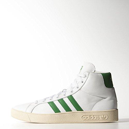 MCNMONTECARLOMIDM25777 Adidas Sneakers Herren Leder Weiß Weiß