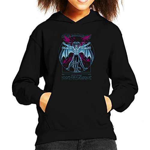 Cloud City 7 Vitruvian Devil Kid's Hooded Sweatshirt