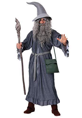 Herr der Ringe Gandalf Kostüm für Erwachsene Karneval Fasching Verkleidung (Herr Der Ringe Sauron Kostüme)