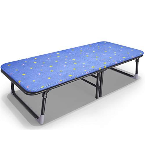 Eeayyygch Klappbett für Einzelbett, für Campingbett, Büro, Siesta-Bett (Größe: 63,5 cm), 80 cm