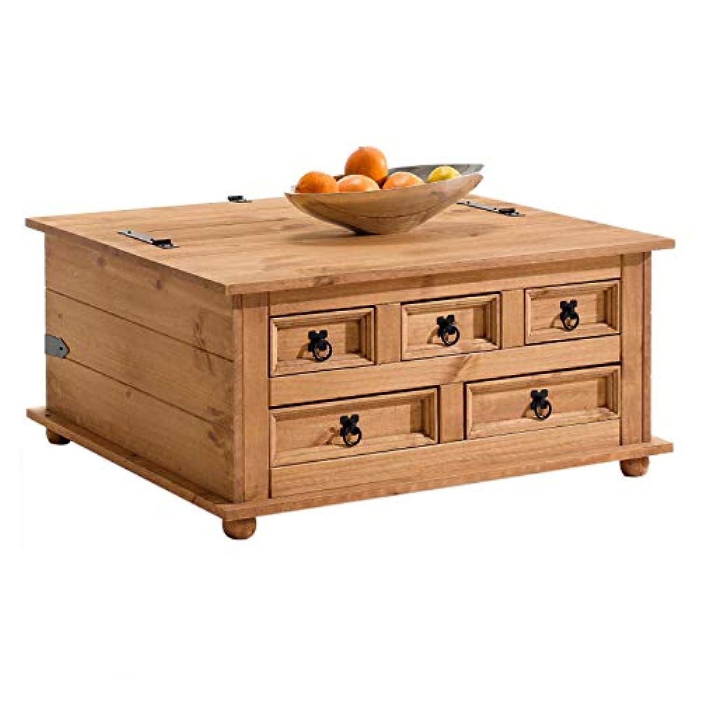 Coffre Table Rangement Massif Basse Tequila Pin Idimex Style 8wX0OPkNnZ
