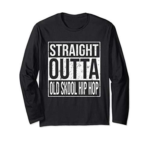 Straight Outta Old Skool 90s Hip Hop Kleidung 1990 Jahre Rap - 1990 Hip Hop Kostüm