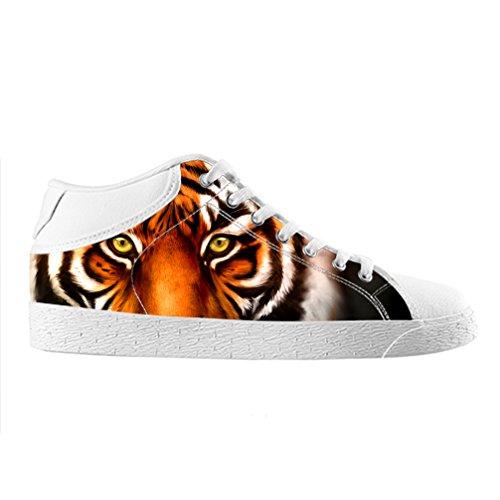 Virginia Hohen Schuhe (Cheese Weihnachten Glücklicher Tiger Hohe Qualität Schuhe Canvas Custom Chukka für herren, EUR 45.5)
