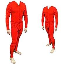 aa0d77b8ee Long John Rot aus 100% Baumwolle in den Größen S ...