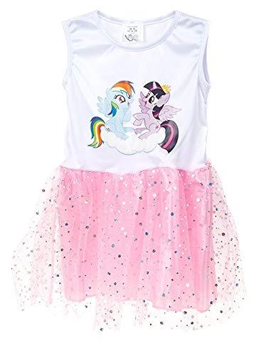 Kamparo Tutu-Kleid My Little Pony Mädchen weiß/rosa Einheitsgröße (Little My Pony-tutu)