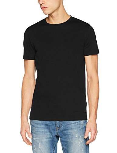 BOSS Casual Herren T-Shirt typer Schwarz (Black 001)