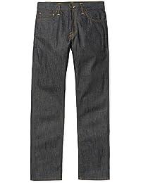 CARHARTT WIP - Jean - Homme - Jeans Straight Fit en Toile Japonaise Niihama Bleu pour homme