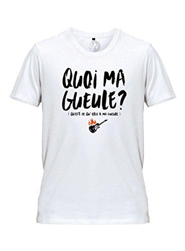 KSS KSS KSS Homme T-Shirt Message Qu'est ce...