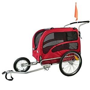 doggyhut extra grosser hundeanh nger mit jogger kit. Black Bedroom Furniture Sets. Home Design Ideas