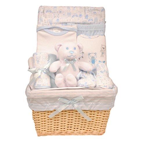 Bee Bo - Cadeau de naissance 0 - 3 mois - peluche éléphant ou chien, body, pantalon, chaussons, bavoir...