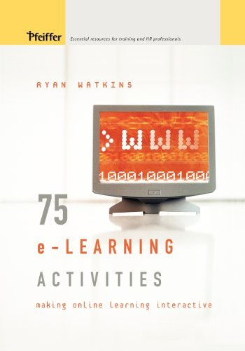 get 75 e learning activities making online learning interactive pdf