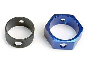Traxxas 4966 Hex - Adaptador de Freno de Aluminio para Coche, Color Azul