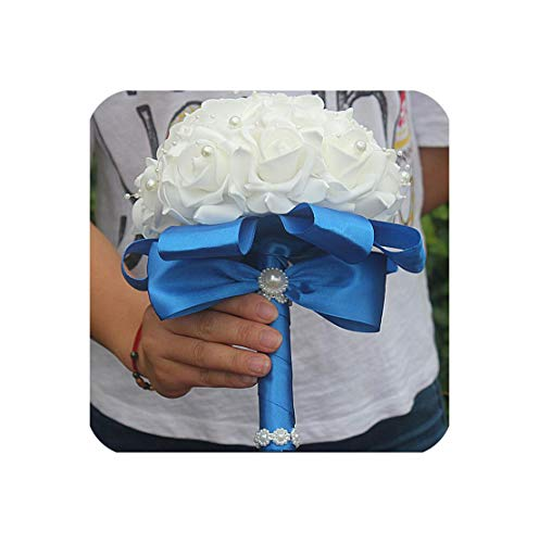UNIQUE SOLO SHOP-artificial-flowers Ramo Rosas Espuma