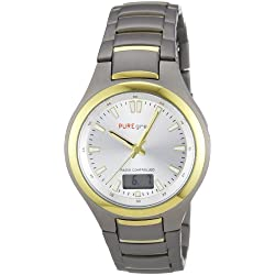 Pure Grey Watches Men's Quartz Watch 1677.9191 with Metal Strap