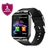 Best Clock Radio For Iphones - Forestone DZ09 Bluetooth SmartWatch with SIM/TF Card Slot Review