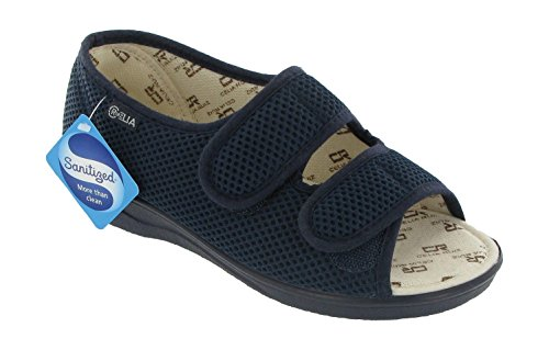 Mirak 213 Wide Fit Sandal Beige Size 6