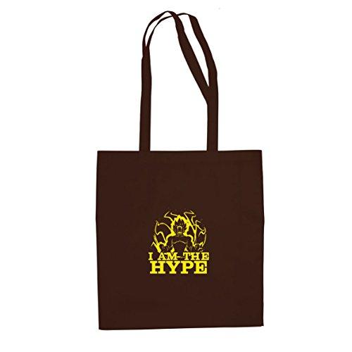 DBZ: I am the Hype - Stofftasche / Beutel Braun